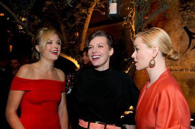 Malin Akerman, Milla Jovovich, Elizabeth Banks