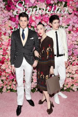 Peter Brant, Michelle Harper, Harry Brant