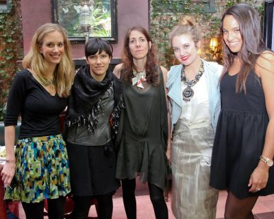 Rachelle Hruska MacPherson, Elisa Toffoli, Oberon Sinclair, Abigail Jorgensen, Casandra Johnson