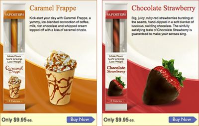 Caramel Frappe, Chocolate Strawberry