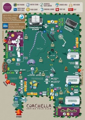 Coachella Venue Map