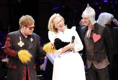 Elton John, Meryl Streep, Sting