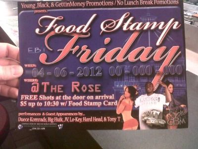 New Low: Alabama Nightclub Celebrates Welfare With