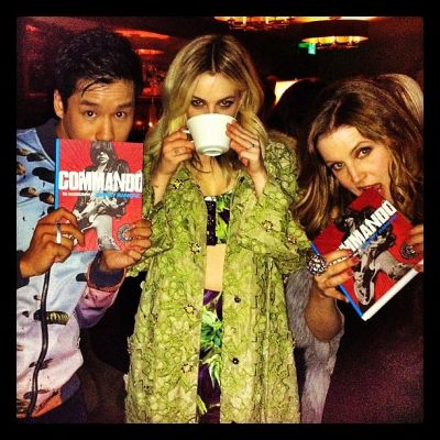 Jared Eng, Riley Keough, Lisa Marie Presley