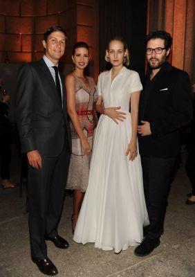 Jared Kushner, Ivanka Trump, Leelee Sobieski, Adam Kimmel