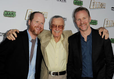 Joss Whedon, Stan Lee, Morgan Spurlock