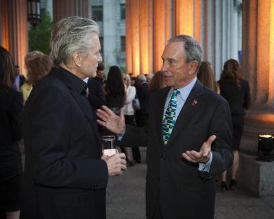 Michael Douglas, Michael Bloomberg