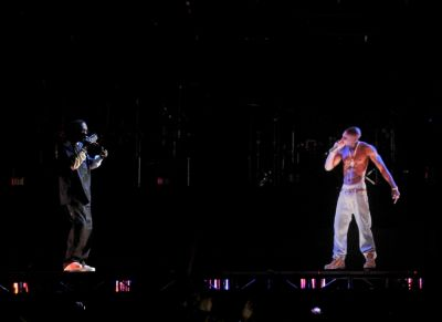 Snoop Dogg, Tupac Hologram