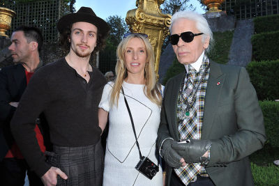 Aaron Johnson, Karl Lagerfel, Sam Taylor-Wood