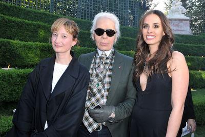 Alba Rohrwacher, Karl Lagerfeld, Sophie Auster