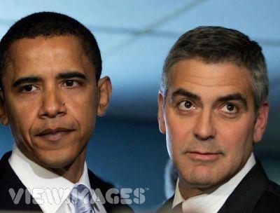 Barack Obama, George Clooney