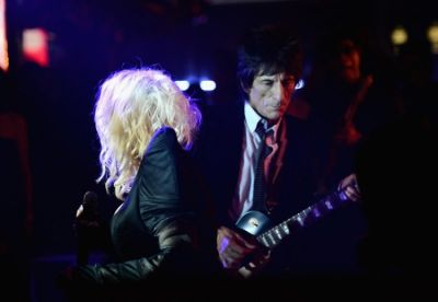 Cyndi Lauper, Ronnie Wood