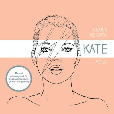 Kate Moss Coloring Book