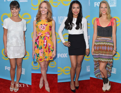 Lea Michele, Jayma Mays, Naya Rivera, Heather Morris