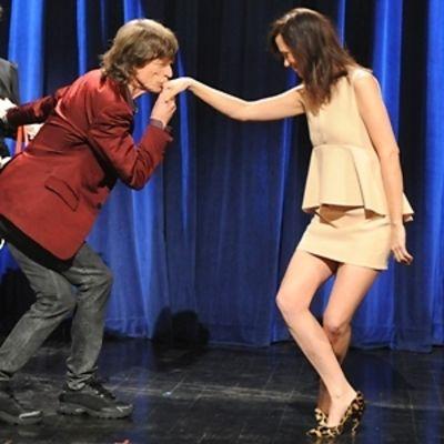 Mick Jagger, Kristen Wiig