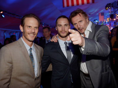 Peter Berg, Taylor Kitsch, Liam Neeson