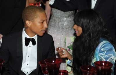 Pharrell Williams, M.I.A.