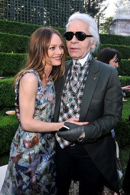 Vanessa Paradis, Karl Lagerfeld