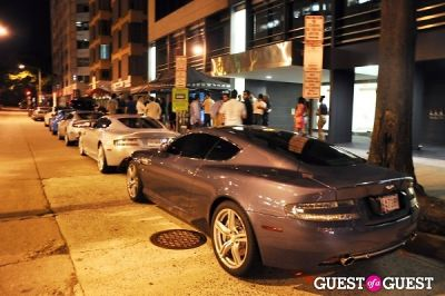 Aston Martin at Shadow Room