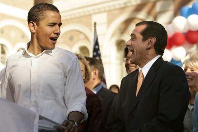 Barack Obama, Antonio Villaraigosa