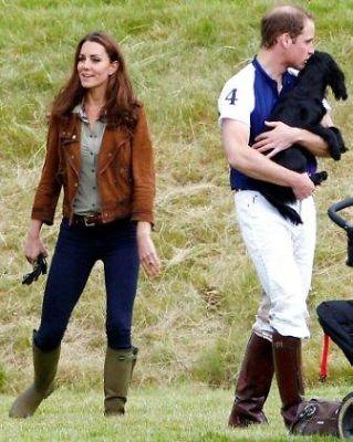 Kate Middleton, Prince William, Lupo