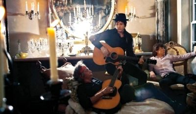 Keith Richards, Jack White, Mick Jagger
