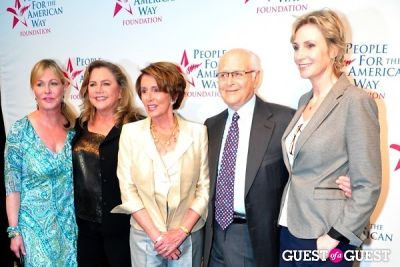 Lyn Lear, Kathleen Turner, Nancy Pelosi, Norman Lear, Jane Lynch