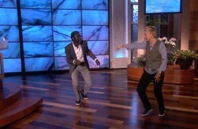 Tony Okungbowa, Ellen DeGeneres