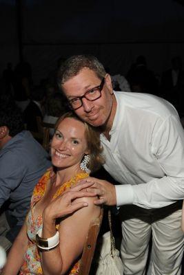 Andrea Glimcher, Mark Glimcher