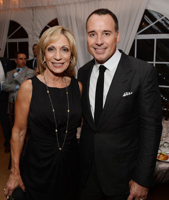 Andrea Mitchell, David Furnish