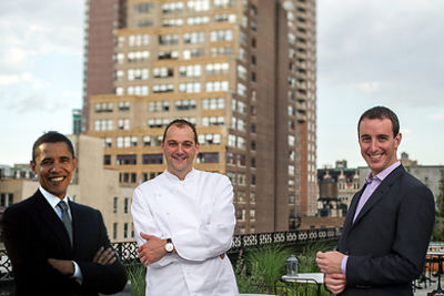 Barack Obama, Daniel Humm, Will Guidara