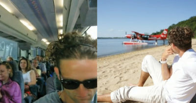 Getting To The Hamptons By StndAir vs Bus, As Told By Filmmaker Casey Neistat