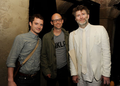 Elijah Wood, Moby, James Murphy