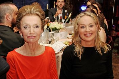 Lee Radziwill, Sharon Stone