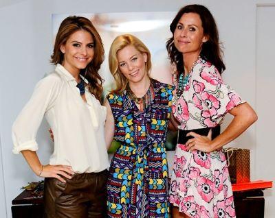 Maria Menounos, Elizabeth Banks, Minnie Driver