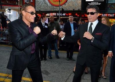 Jean-Claude Van Damme, Sylvester Stallone