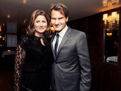 Mirka Federer, Roger Federer