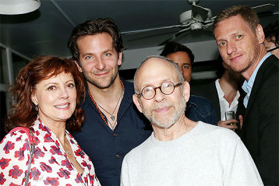 Susan Sarandon, Bradley Cooper, Bob Balaban, Brian Klugman