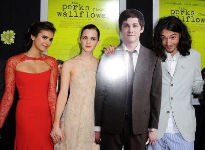 Nina Dobrev, Emma Watson, Ezra Miller