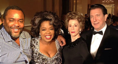 Oprah Winfrey, Nancy Reagan