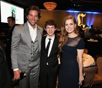 Bradley Cooper, Tom Holland, Amy Adams