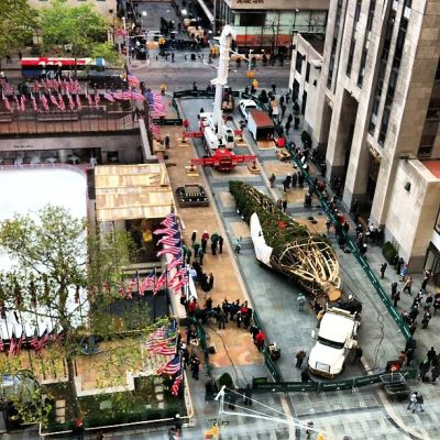 Photo Of The Day: 80th Rockefeller Center Tree Survived Sandy