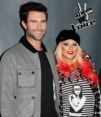 Adam Levine, Christina Aguilera