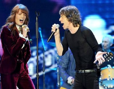 Florence Welch, Mick Jagger