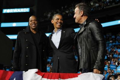 Jay-Z, Barack Obama, Bruce Springsteen