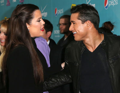 Khloe Kardashian, Mario Lopez