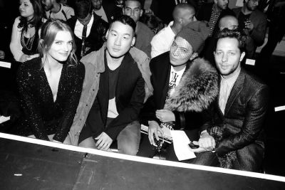 Lily Donaldson, Richard Chai, Bryanboy, Derek Blasberg