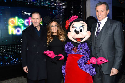 Mark Lee, Sarah Jessica Parker, Minnie Mouse, Bob Iger