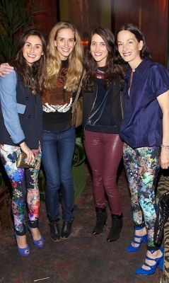 Danielle Snyder, Rachelle Hruska, Jodie Snyder, Cynthia Rowley