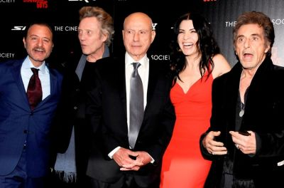 Fisher Stevens, Christopher Walken, Alan Arkin, Julianna Margulies, Al Pacino